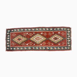 Turkish Kilim Runner Rug, 1970s