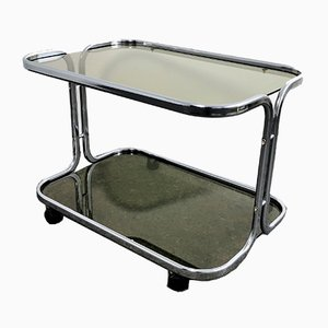 Chrome Bar Cart or Trolley, 1960s