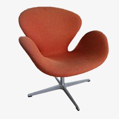 Swan Chair by Arne Jacobsen for Fritz Hansen, 1958