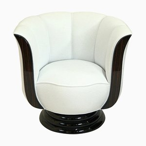 Tulip Shaped Lounge Chair from Adm Art Déco Moderne