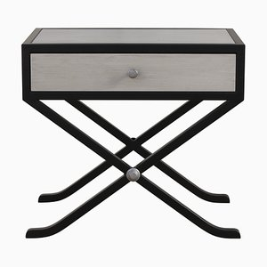 Emanuele Side Table with Drawer by Isabella Costantini