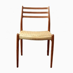 Teak Dining Chair by Niels Otto Møller for J.L. Møllers, 1950s
