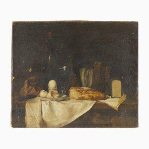 Olio antico su tela, Francia