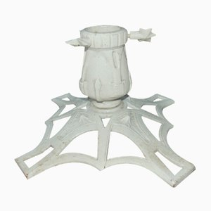 Antique Art Nouveau Cast Iron Stand
