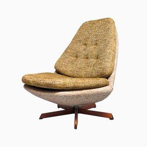 Dänischer Sessel mit Gestell aus Teak von Madsen & Schübel für Bovenkamp, 1970er