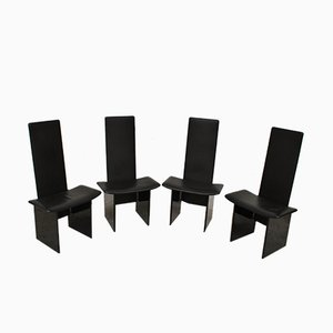 Dining Chairs by Kazuhide Takahama for Simon, 1970s, Set of 4