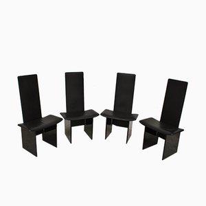 Esszimmerstühle von Kazuhide Takahama für Simon, 1970er, 4er Set