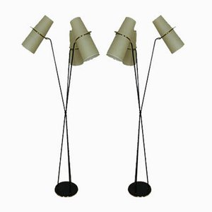 Floor Lamps from Lunel, 1950s, Set of 2