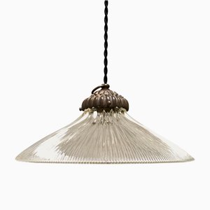 Ceiling Lamp from Holophane, 1930s