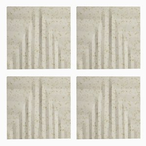 Chamomile Tea Coasters by Dust London, Set of 4