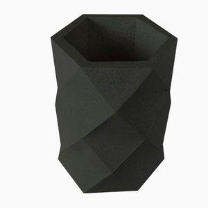 Grand Cache-Pot Noir par Dust London