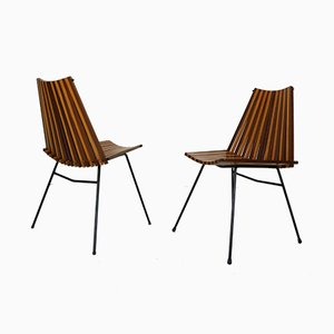Modernist Side Chairs by Dirk van Sliedregt for Rohé Noordwolde, 1960s, Set of 2