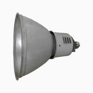 Lámpara de techo italiana industrial, años 70