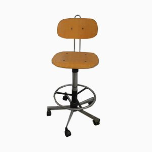 Italian Swivel Stool, 1970s