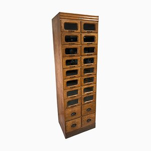Industrial Haberdashery Cabinet from J. C. KING LTD. Shopfittings & Sundries, 1930s