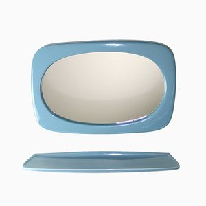 Mirror with Shelf from Austrovit, 1960s, Set of 2