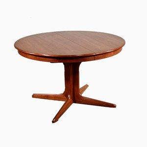 Juego de mesa de comedor y sillas escandinavas de teca de Skovby, años 60. Juego de 5