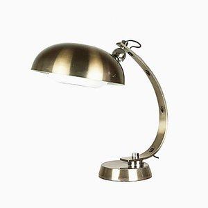 Lampe de Bureau Peinte en Blanc, Italie, années 60