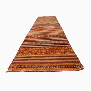 Turkish Kilim Runner Rug, 1960s