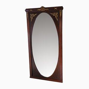 Specchio vintage in mogano