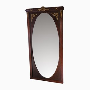 Vintage Spiegel mit Rahmen aus Mahagoni