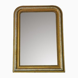 Antique Silver Gilt & Gold Finish Mirror