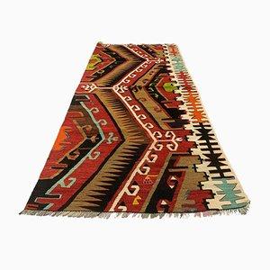 Türkischer Kelim Teppich, 1960er