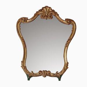 Antiker Spiegel mit vergoldetem Rahmen, 1900er