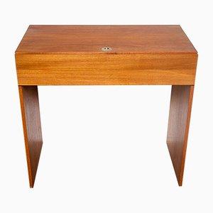 Teak Dressing Table by Arne Wahl Iversen for Vinde Møbelfabrik, 1960s