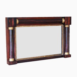 Antique Regency Mahogany Mirror, 1825