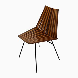 Modernist Side Chair by Dirk van Sliedregt for Rohé Noordwolde, 1960s