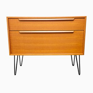 German Teak Chest of Drawers from WK Möbel, 1960s