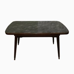 Mid-Century Marble Coffee Table