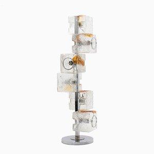 Lámpara de pie Mid-Century de Toni Zuccheri para Veart