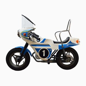 Vintage BMW Motorcycle Decorative, 1970s