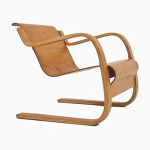 Model 31 Cantilever Lounge Chair by Alvar Aalto for Wohnbedarf, 1932
