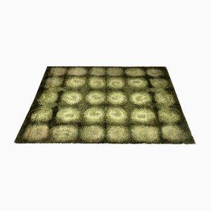 Danish Rya Wool Carpet, 1960s