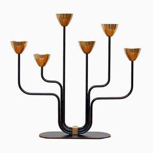 Kerzenhalter aus Messing von Gunnar Ander für Ystad-Metall, 1960er