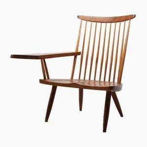 Vintage Walnut Lounge Chairs by George Nakashima
