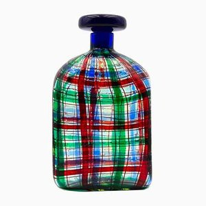Murano Glass Tartan Bottle by Christian Dior for Ercole Barovier, 1969