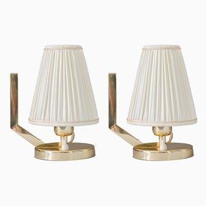 Tischlampen von Rupert Nikoll, 1960er, 2er Set
