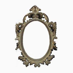 Specchio antico in ottone, anni '40