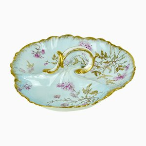 Porcelain Jewelry Plate from Limoges, 1940s