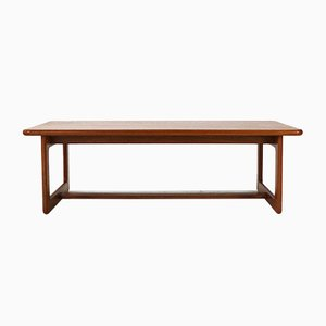 Teak Coffee Table from Burchardt-Nielsen, 1970s
