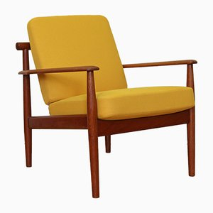 Armchair by Grete Jalk for France & Søn / France & Daverkosen, 1950s