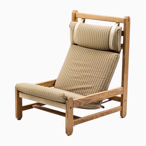 Scandinavian Sling Lounge Chair, 1960s