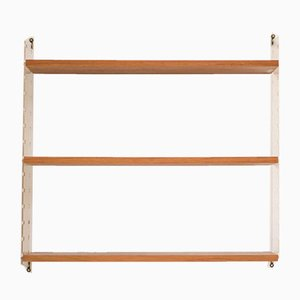 Teak and Plexiglass Shelf by Nils Nisse Strinning, 1960s