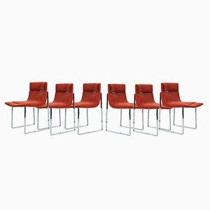 Chaises de Salon, 1970s, Set de 6