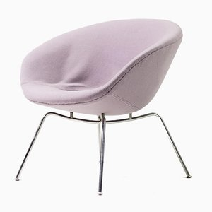 Model 3318 Pot Lounge Chair by Arne Jacobsen for SAS Royal Hotel Copenhagen, 1960s