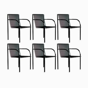 Armchairs by Shiro Kuramata for Pastoe, 1980s, Set of 6